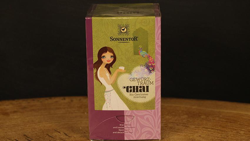 Chai Gewürztraum Tee Beutel, Sonnentor 20 Btl