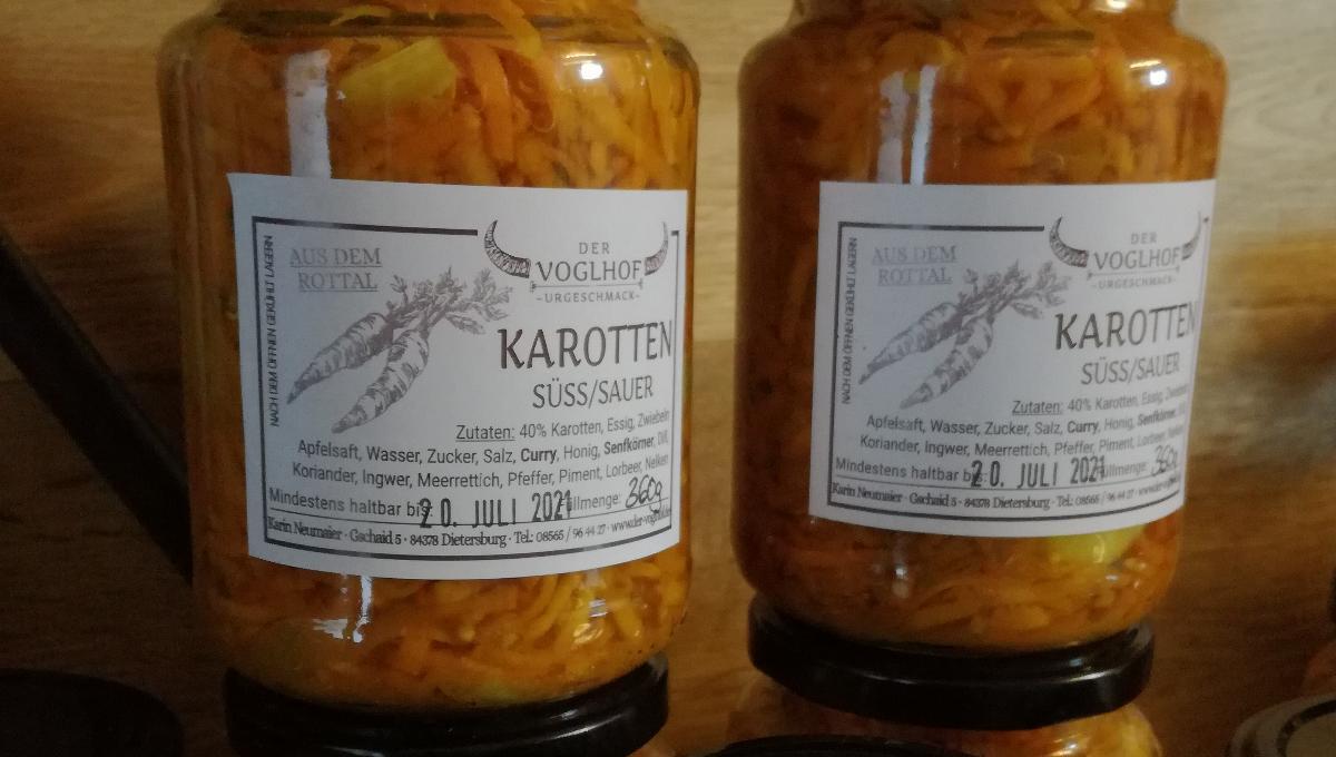 Karotte süß/sauer