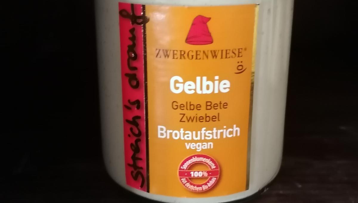 Aufstrich Zwergenwiese: Streich´s drauf - Gelbie / Gelbe Bete und Zwiebel