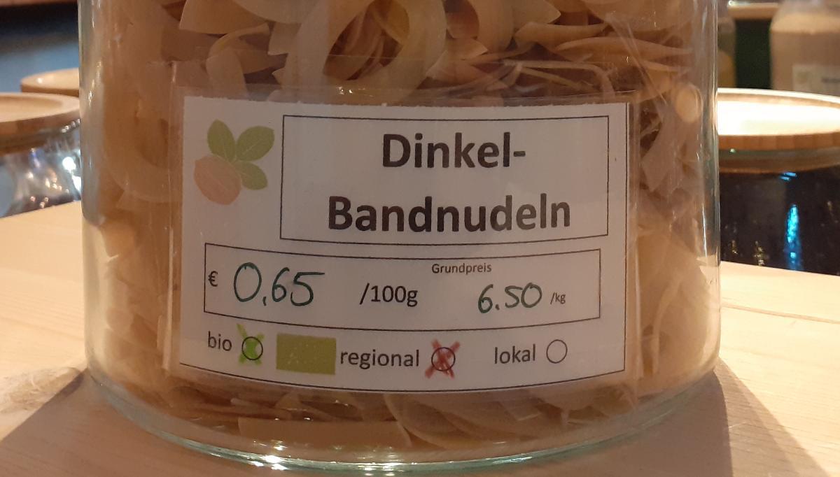Dinkel-Bandnudeln