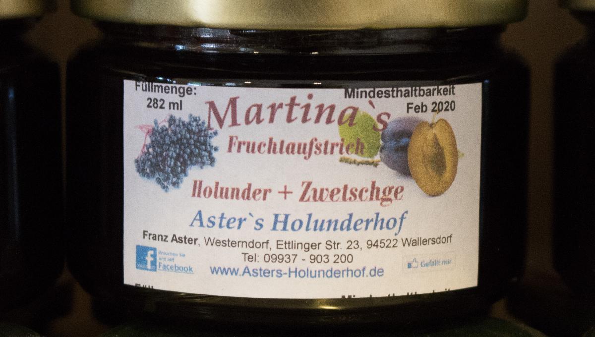 Fruchtaufstrich Holunder & Zwetschge