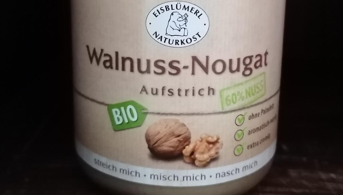 Aufstrich Walnuss-Nougat