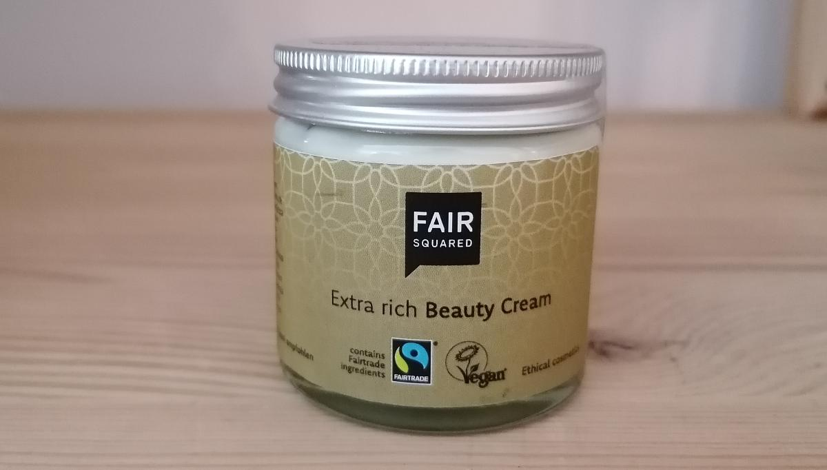 Fair Squared - Beauty Cream, extra rich