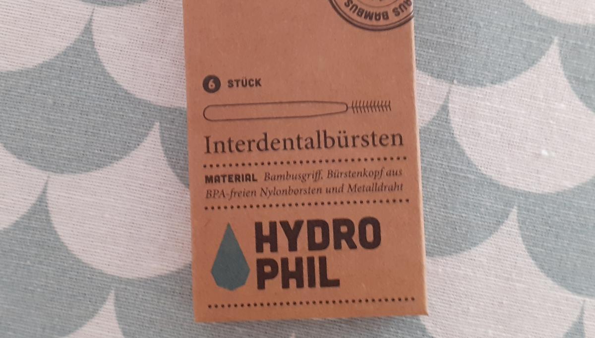 Interdentalbürsten, 6 Stück von Hydrophil