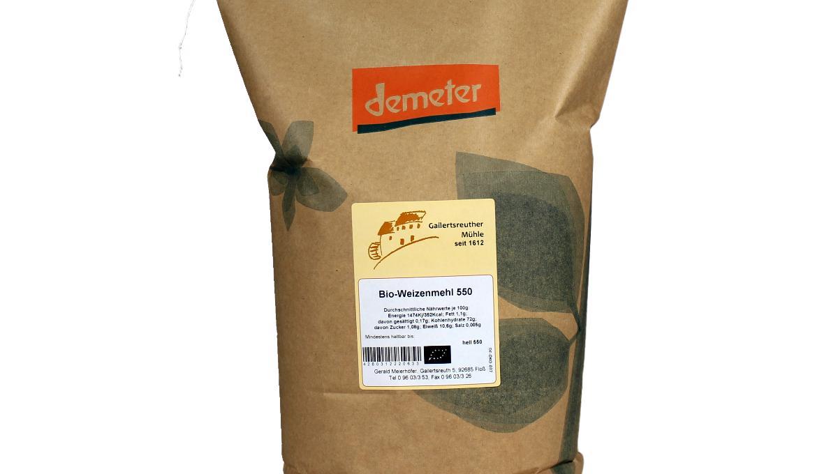 Bio-Weizenmehl Type 550, demeter