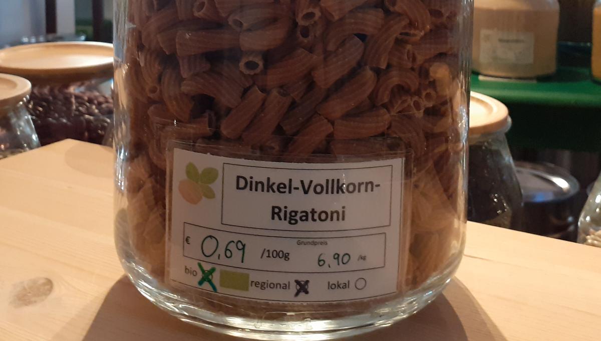 Dinkel-Vollkorn-Rigatoni