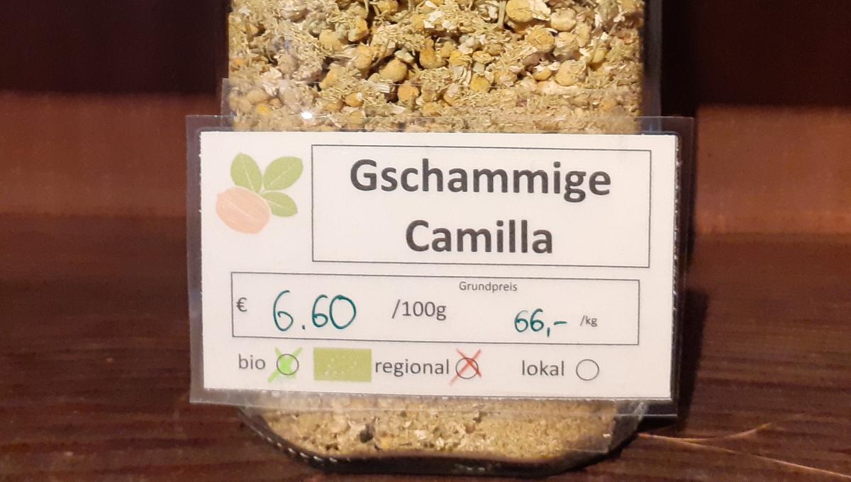 Gschammige Camilla