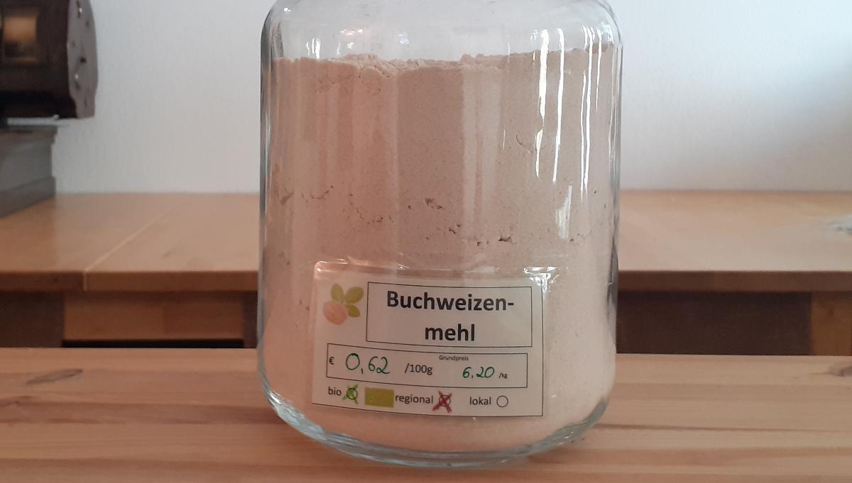 Buchweizenmehl