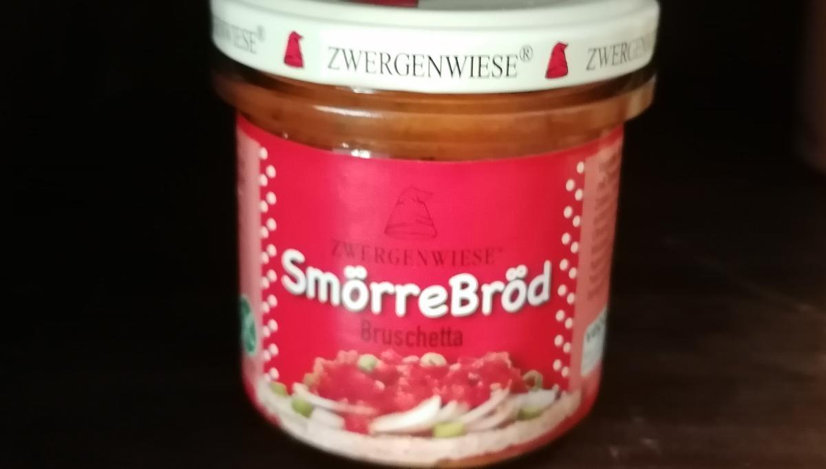 Aufstrich Zwergenwiese: SmörreBröd, Bruschetta