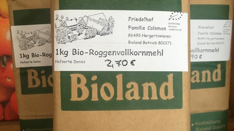 Bio-Roggenvollkornmehl