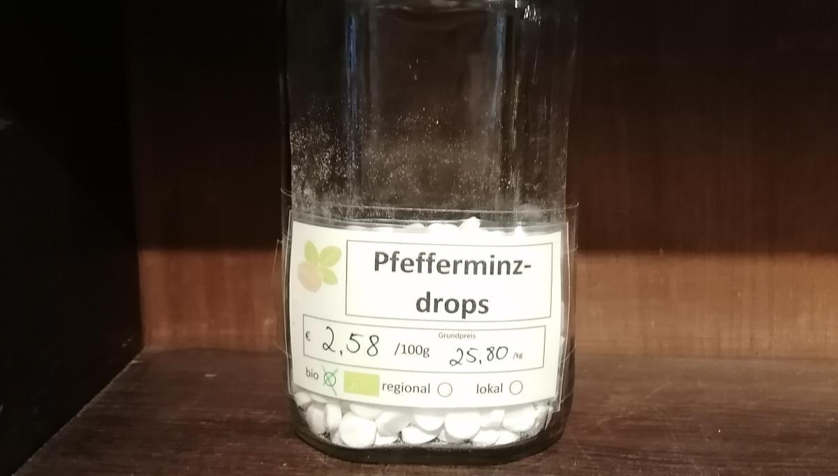 Pfefferminzdrops