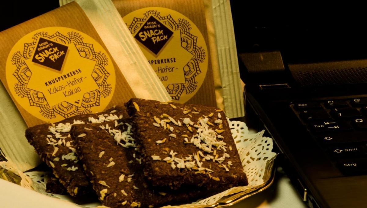 bio Knusperkekse Kokos-Hafer-Kakao