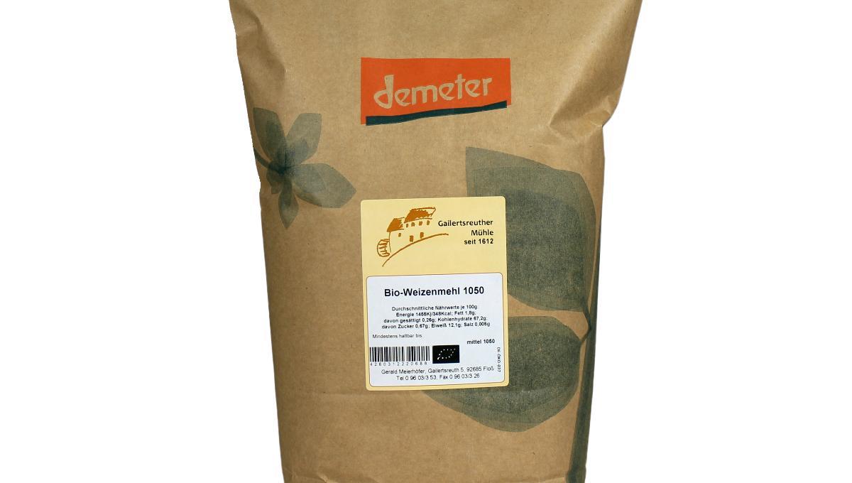 Bio-Weizenmehl Type 1050, demeter