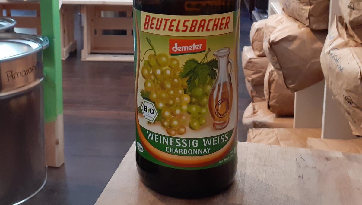 Weinessig weiss, Chardonnay