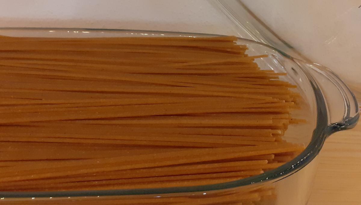 Weizenvollkorn-Spaghetti