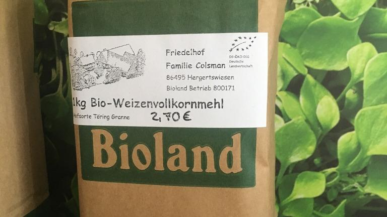 Bio-Weizenvollkornmehl