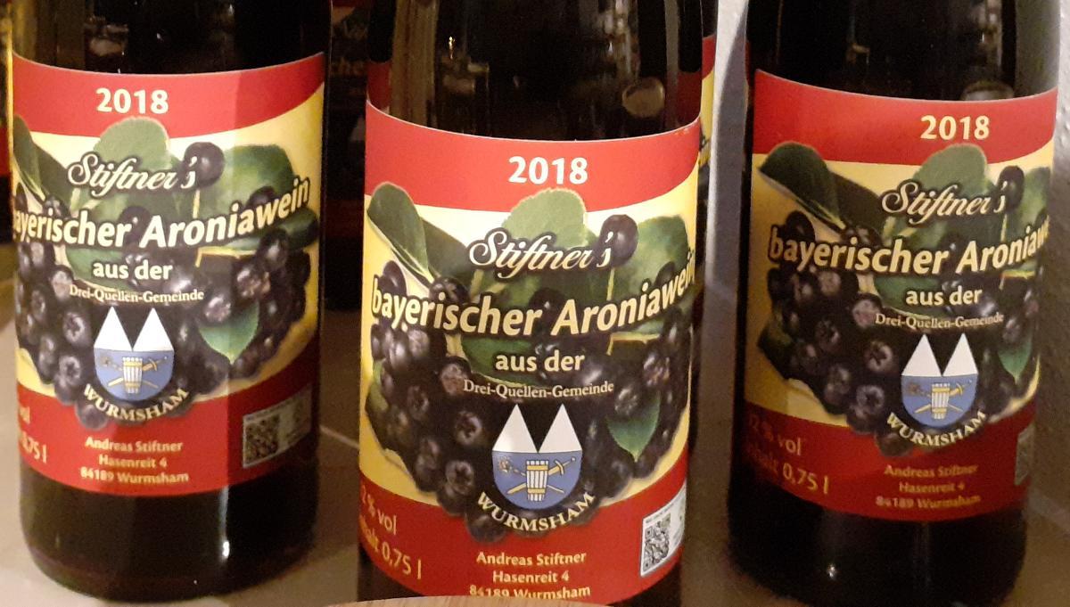 Stiftner's Bayerischer Aroniawein