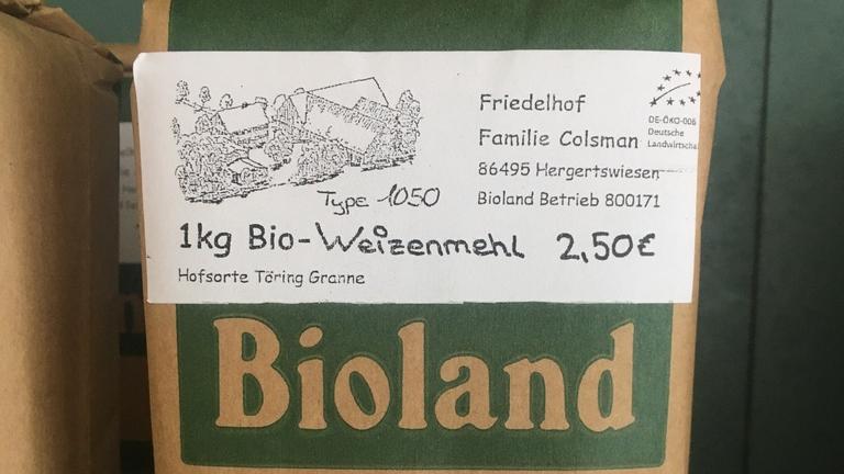 Bio-Weizenmehl Typ 1050
