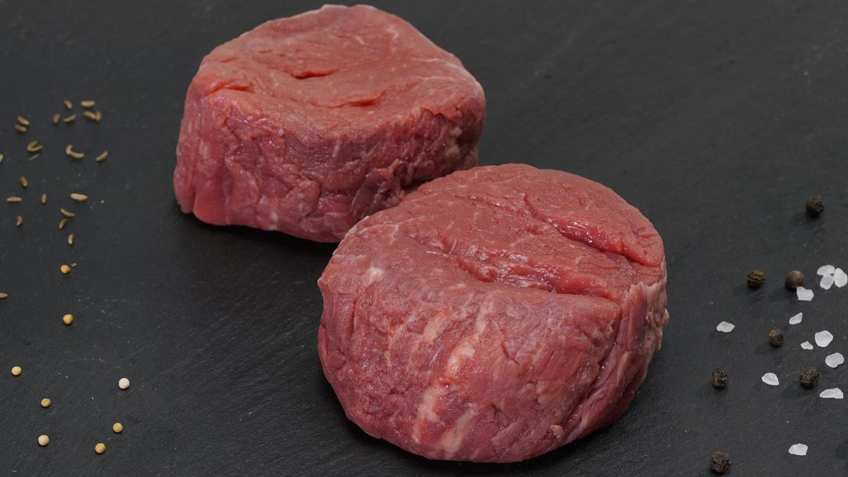Bio Rinder-Filet in Scheiben 2 Stück