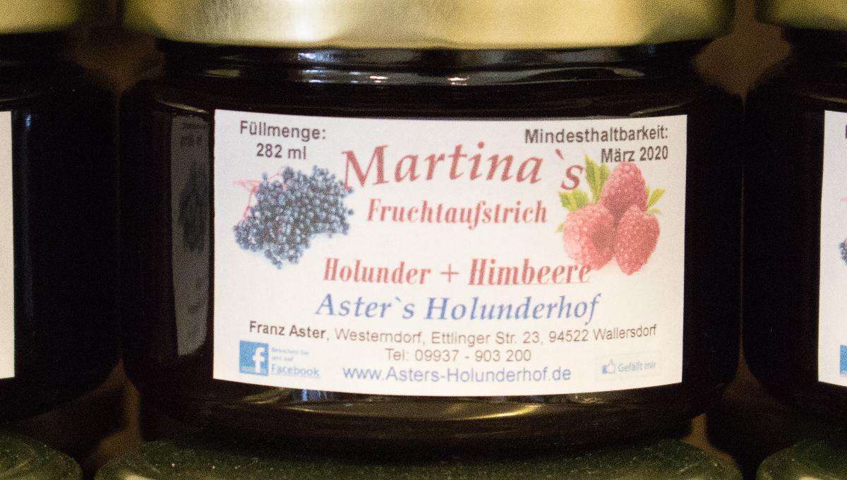 Fruchtaufstrich Holunder & Himbeere