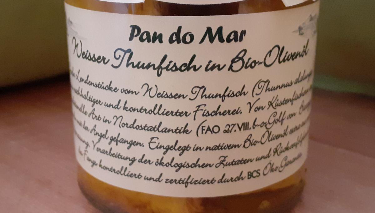 Weisser Thunfisch in Bio-Olivenöl