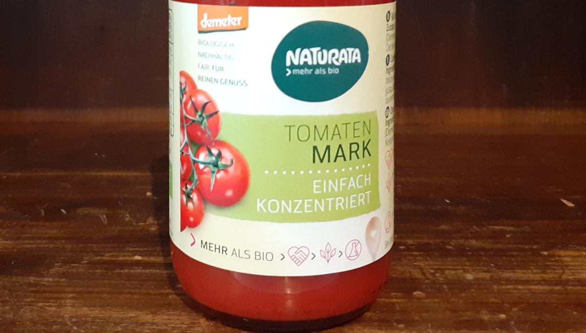 Tomatenmark im Glas