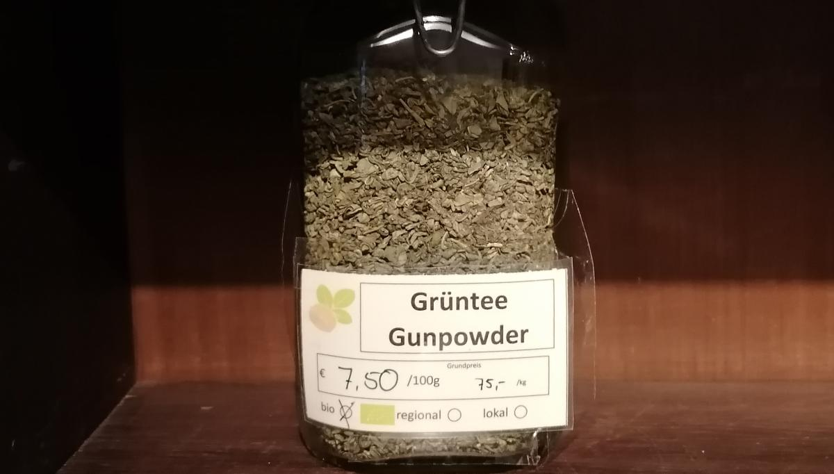 Grüntee Gunpowder