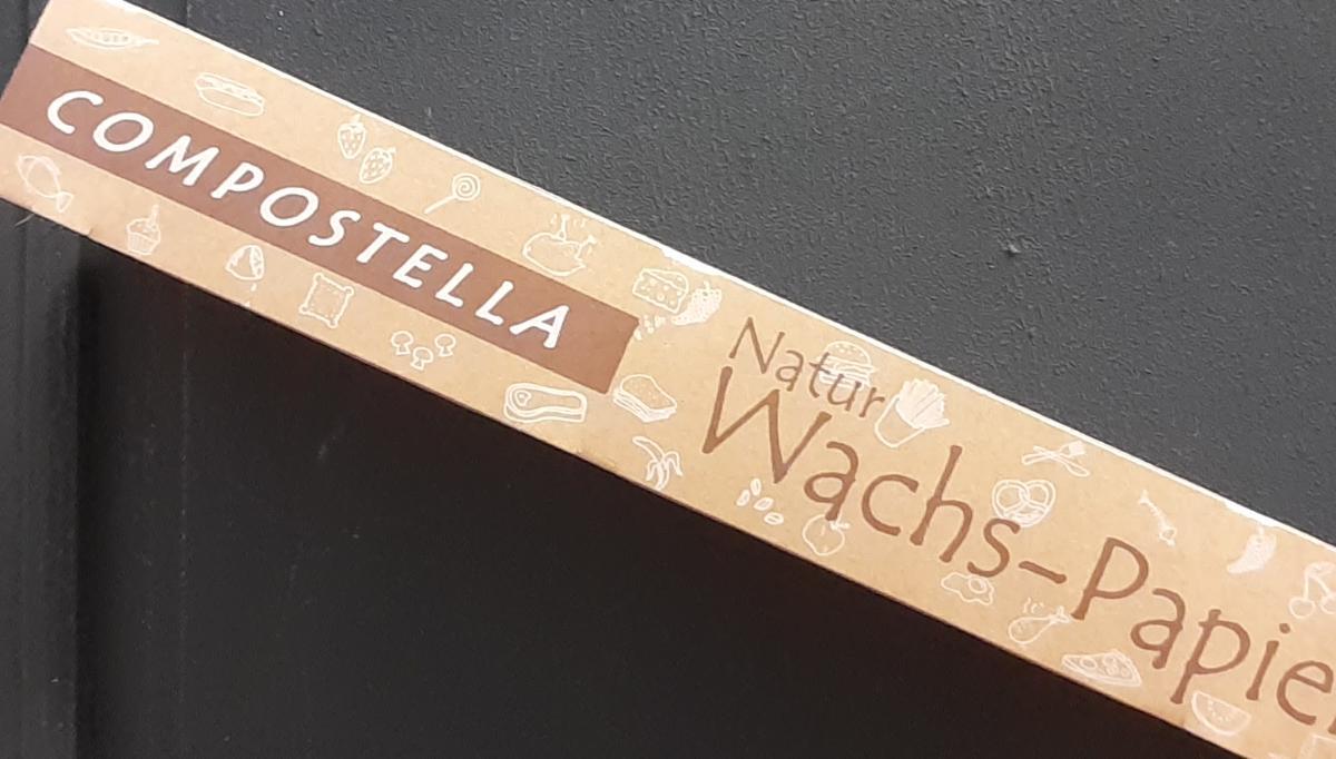 Compostella Natur Wachstuch