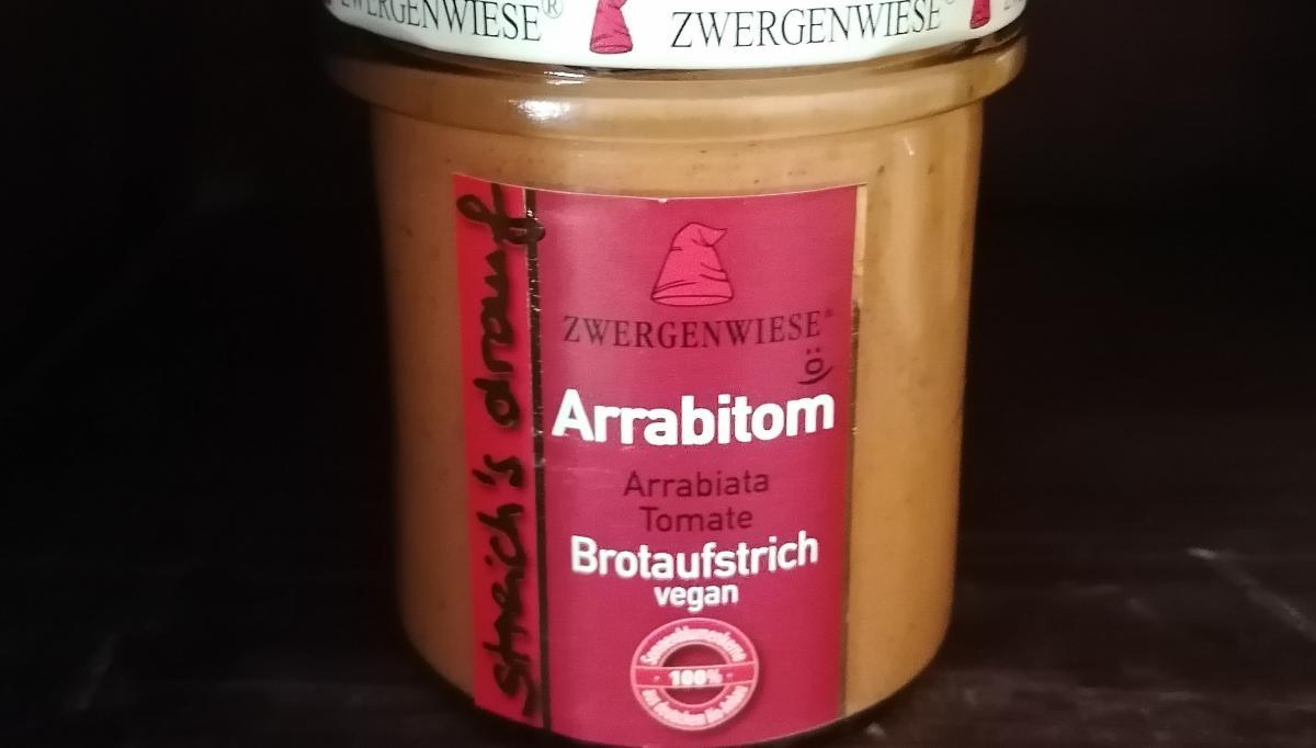 Aufstrich Zwergenwiese: Streich´s drauf - Arrabitom / Arrabiata und Tomate