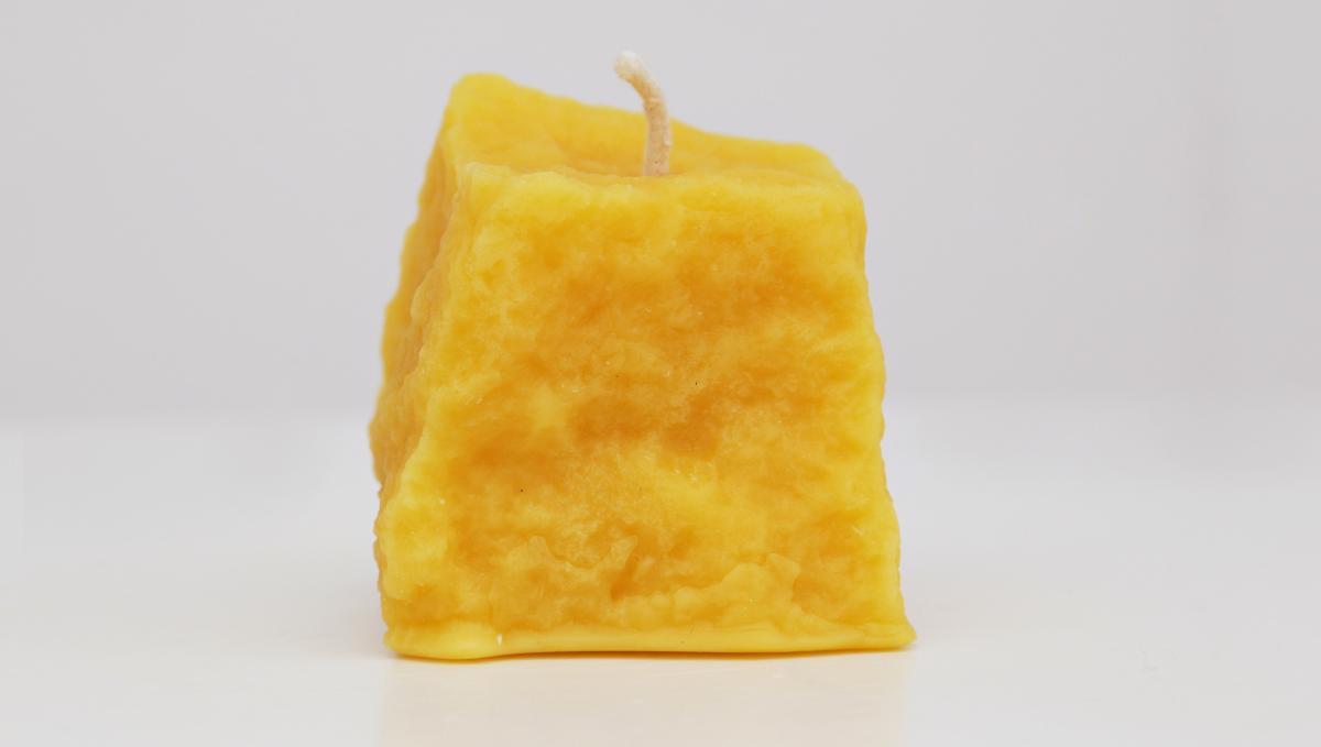 Pflasterstein-Kerze