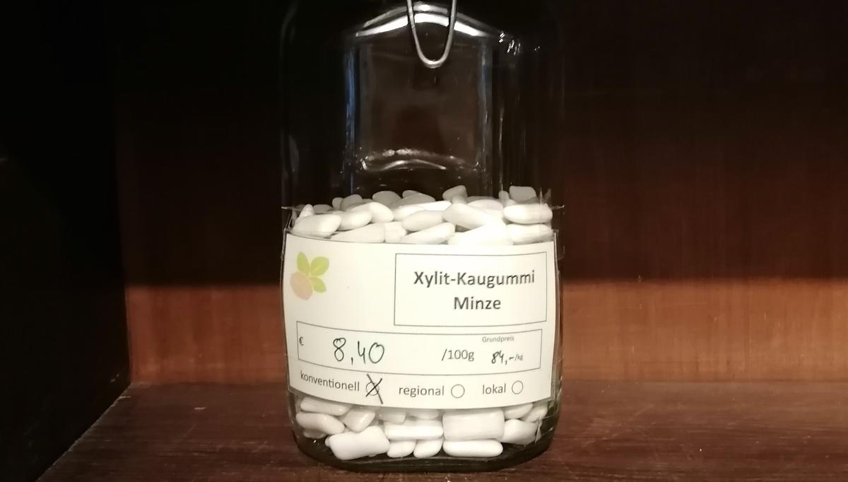 Xylit-Kaugummi Minze