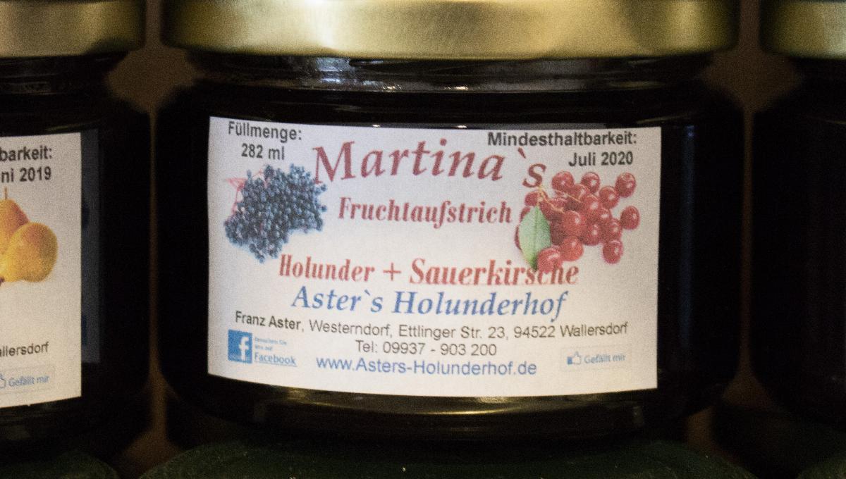 Fruchtaufstrich Holunder & Sauerkirsche