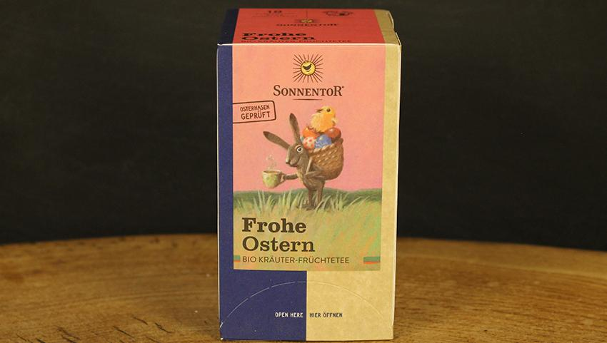 Frohe Ostern Tee Beutel, Sonnentor 18 Btl