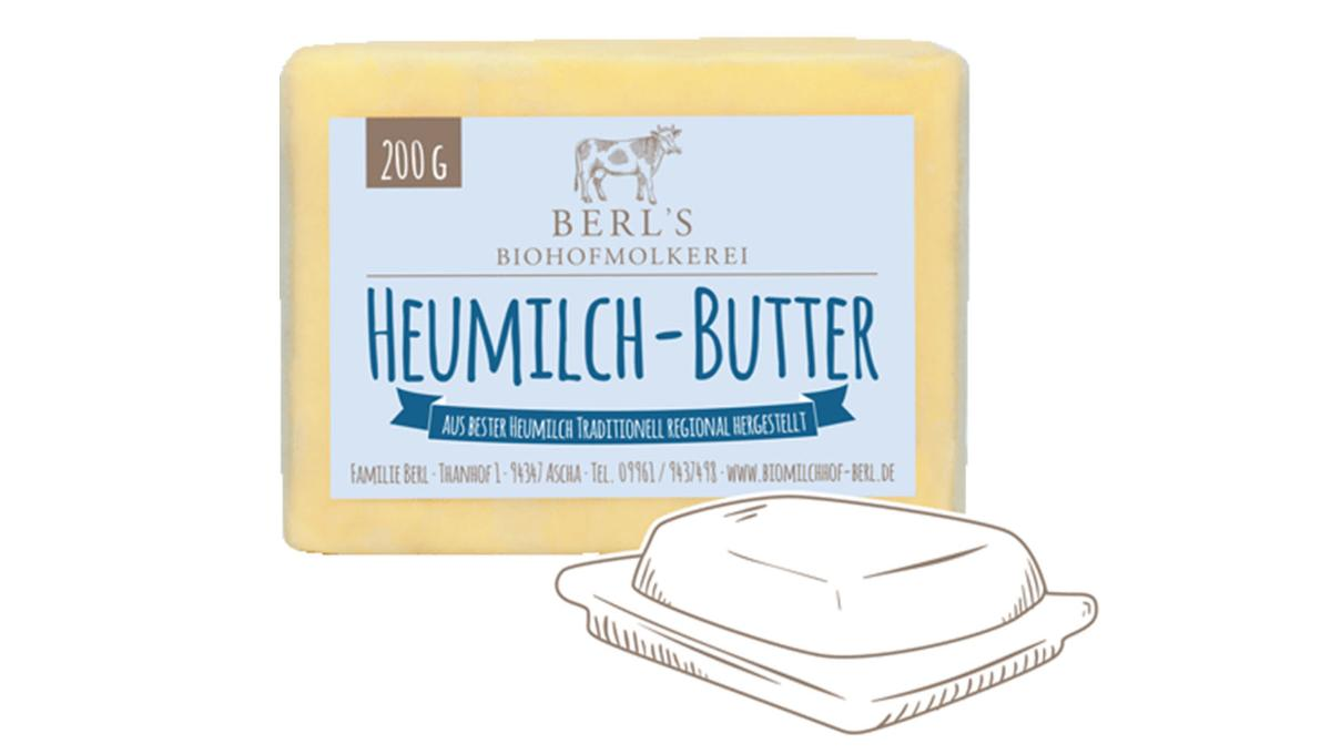 Heumilch-Butter