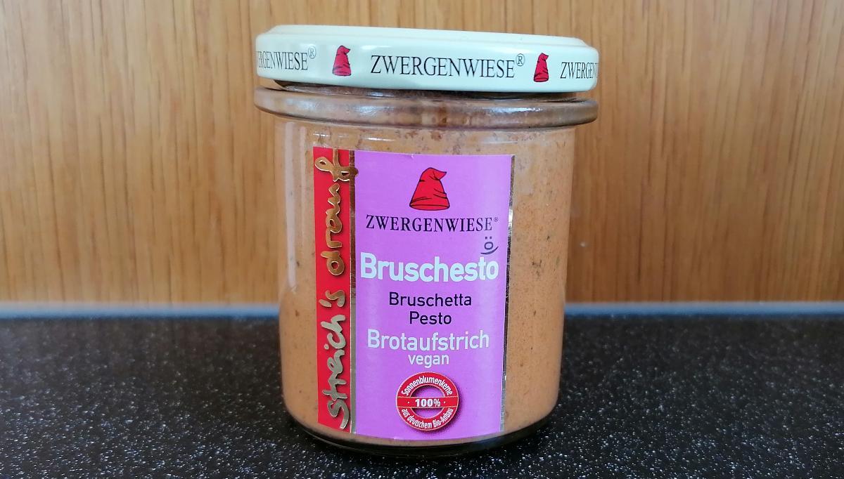 Aufstrich Zwergenwiese: Streich´s drauf - Bruschesto / Bruschetta und Pesto