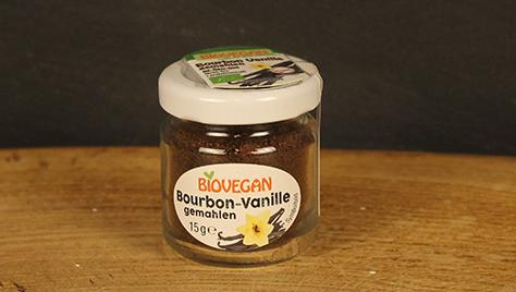 Bourbon Vanille im Glas, biovegan 15g