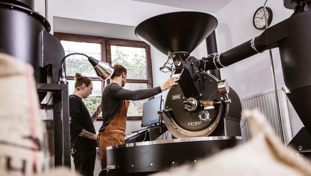 Gscheid.HAFERL Kaffeerösterei