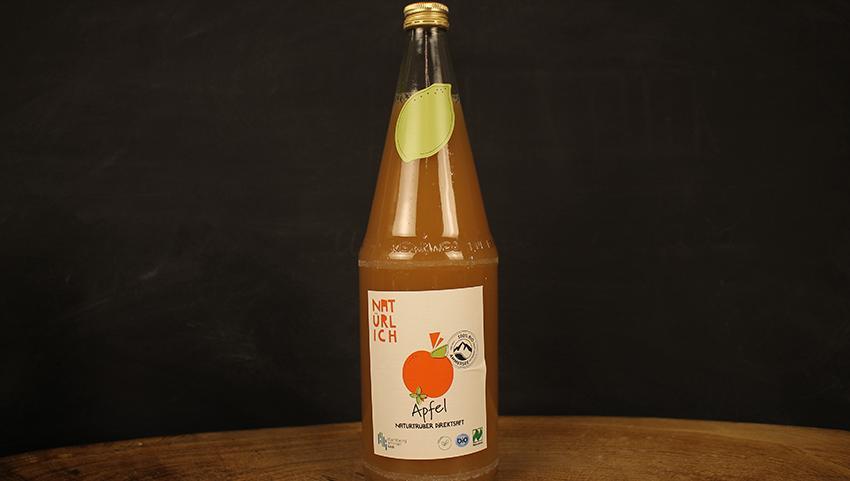 Apfelsaft naturtrüb 1l Natürlich