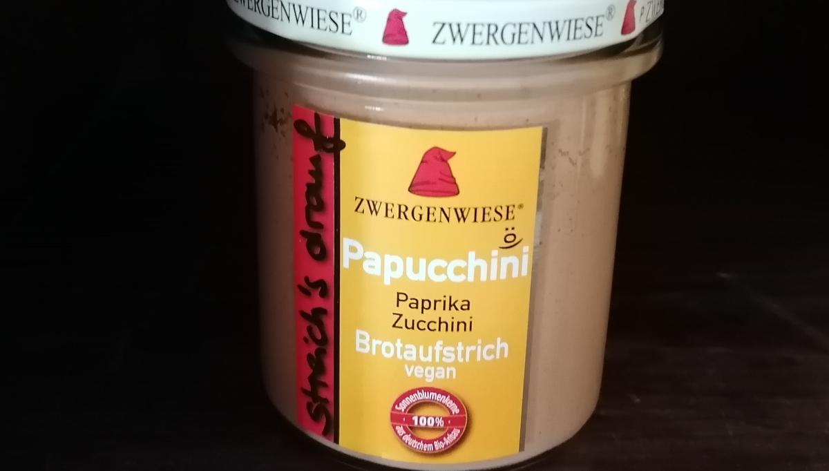 Aufstrich Zwergenwiese: Steich´s drauf - Papucchini / Paprika und Zucchini