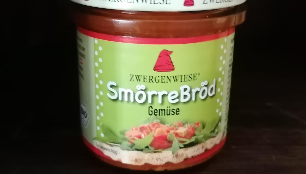 Aufstrich Zwergenwiese: SmörreBröd, Gemüse