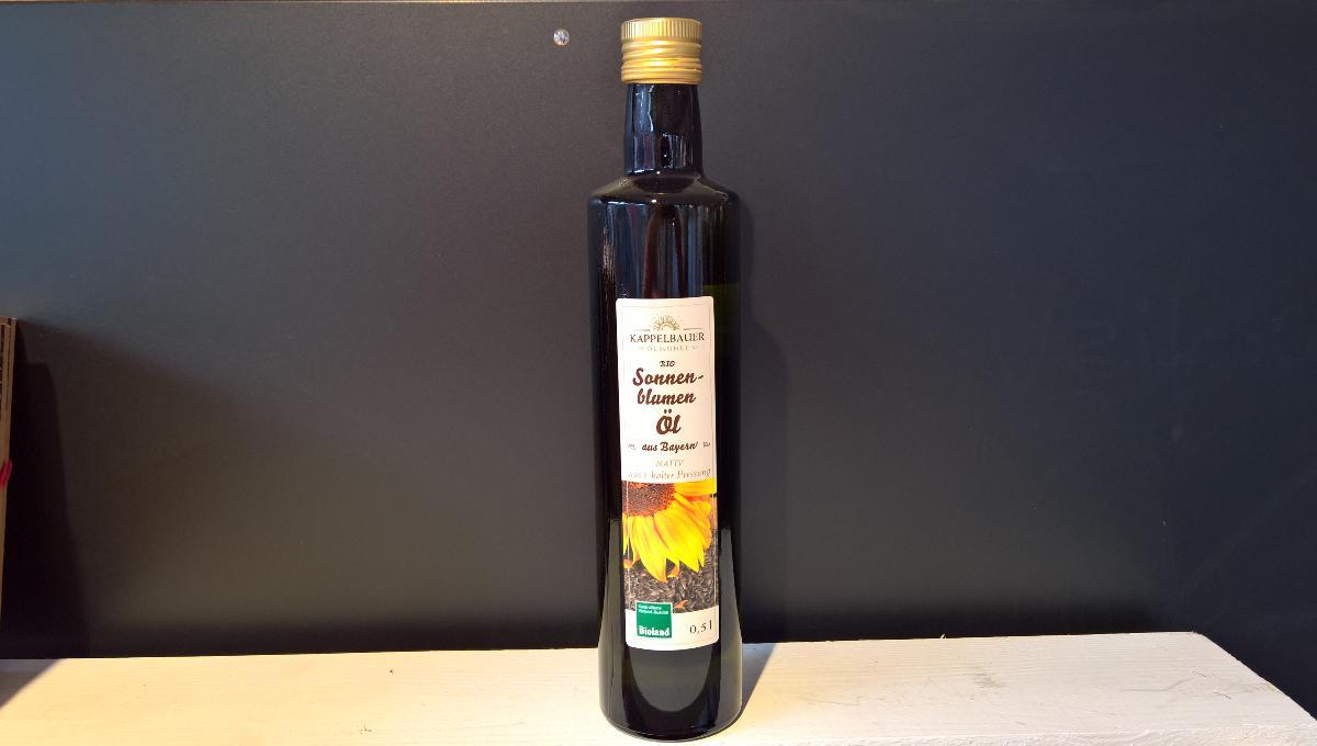 Sonnenblumenöl Kappelbauer 500 ml