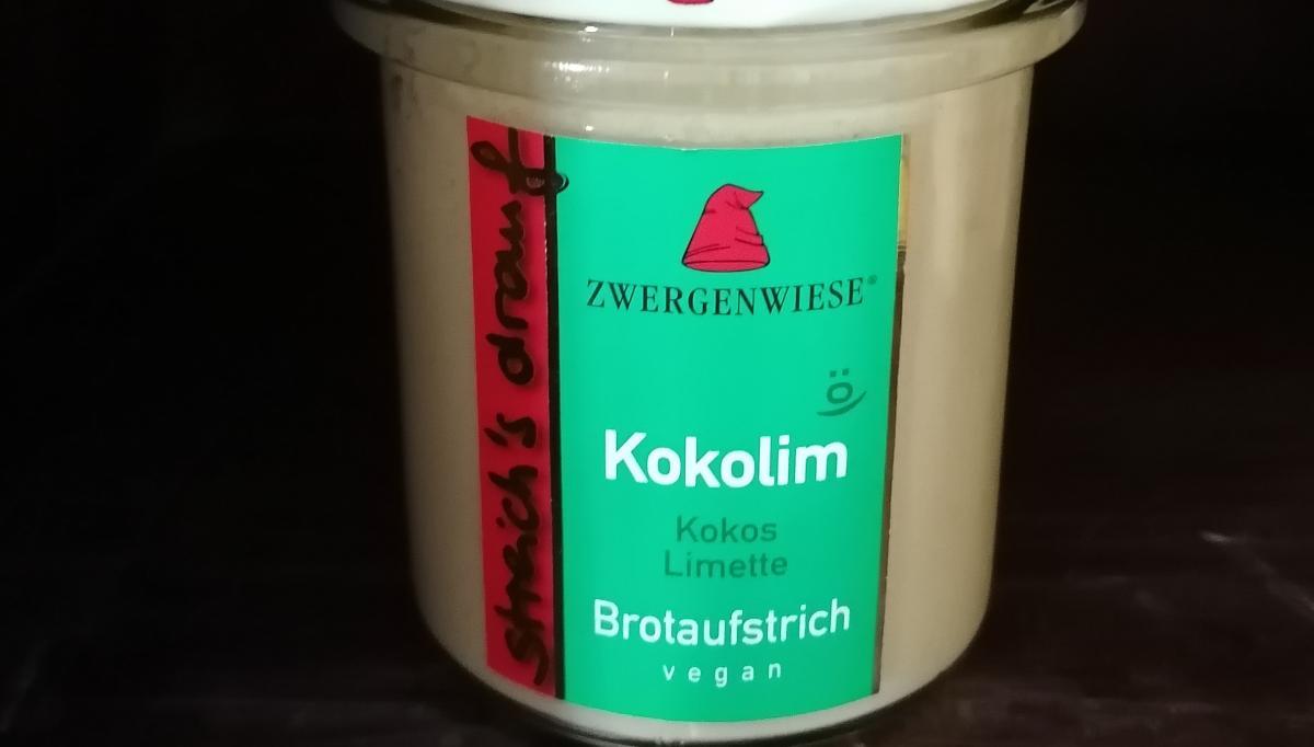Aufstrich Zwergenwiese: Streich´s drauf - Kokolim / Kokos und Limette