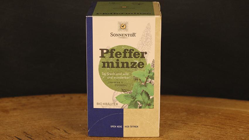 Pfefferminz Tee Beutel, Sonnentor 18 Btl