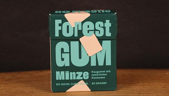 Kaugummi Minze ForestGum 10er