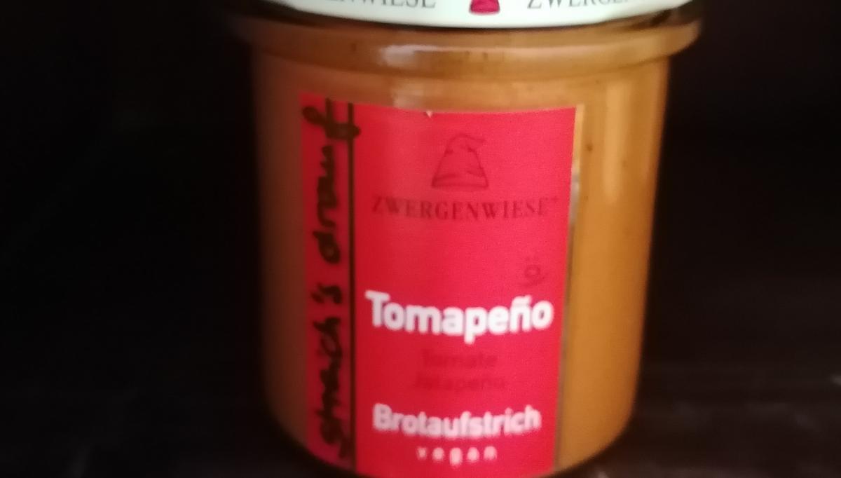 Aufstrich Zwergenwiese: Streich´s drauf - Tomapeno / Tomate und Jalapeno