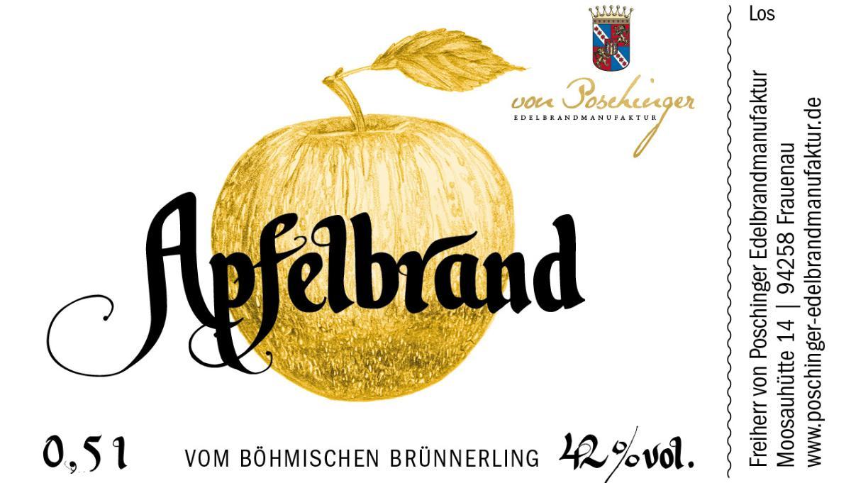 Apfelbrand vom Böhmischen Brünnerling