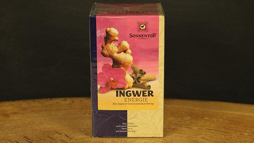 Ingwer Energie Tee Beutel, Sonnentor 18 Btl