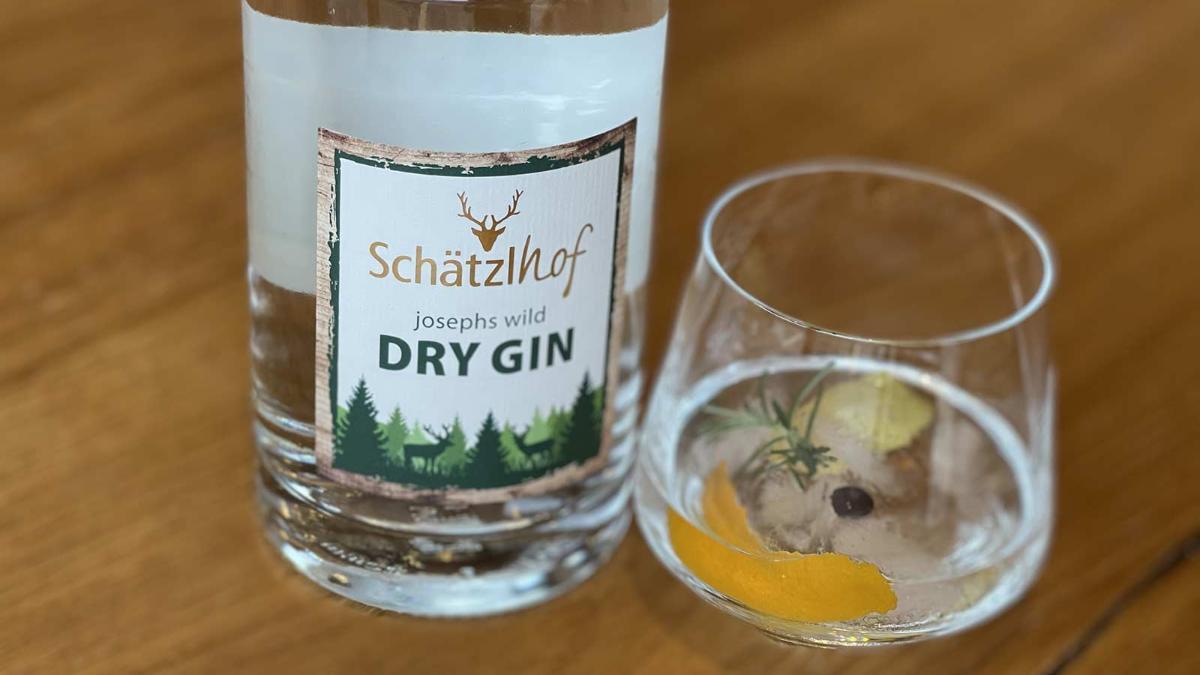 Joseph´s Wild Gin 45% Silber