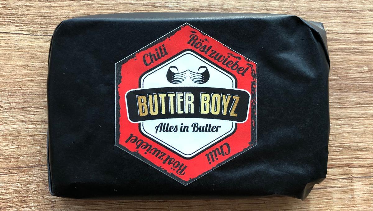 Bio Butter mit Chili & Röstzwiebel 100g
