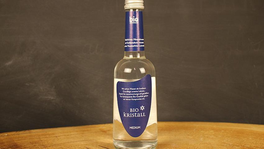 Mineralwasser medium BioKristall 0,33l